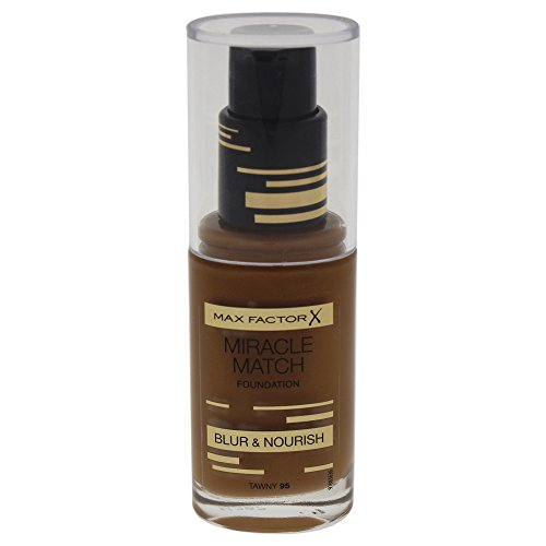 Max factor - max factor miracle match foundation 95 tawny 30ml -