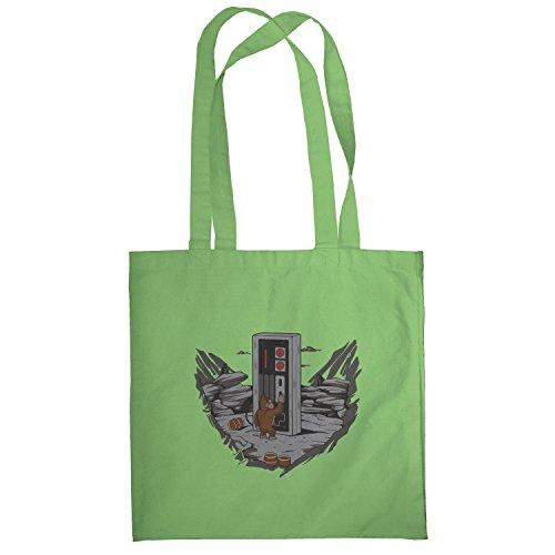 Texlab–Donkey Odyssey–sacchetto di stoffa Verde chiaro