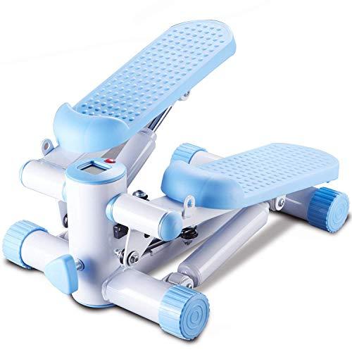 Nanle Haushalt Modelle Beine Mute Stepper Stand Up Mini Treppen Stepper Maschine Home Cardio Stepper Twister Schritt für Stehpult, Höhenverstellbar Fitness Geschenk
