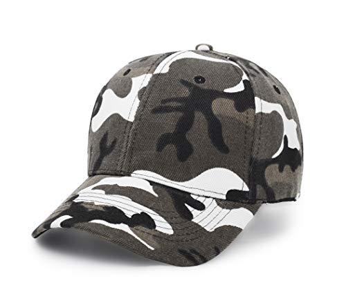 UltraKey Baseballkappen, Militär-Camouflage-Kappen, Schirmmützen, können für Outdoor-Aktivitäten wie Angeln, Camping und Jagd verwendet Werden Grau -