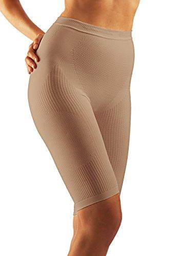 FarmaCell 312 Panty Massant Gainant Anti-Cellulite en Microfibre pour Femme Poudre