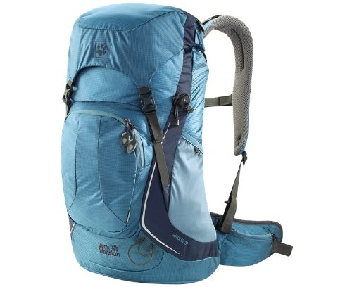 Jack Wolfskin Unisex - Kinder Rucksack Little Joe,  32 x 29 x 2 cm Smoke Blue