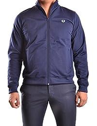 Fred Perry Homme MCBI128095O Bleu Polyester Sweatshirt