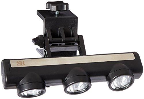 Steven Raichlen Best of BBQ LED-Grilllampe mit 3Strahlern, verstellbar -