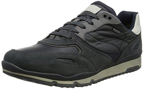 Geox Herren U Sandford B ABX A Sneaker Grau (Anthracite)