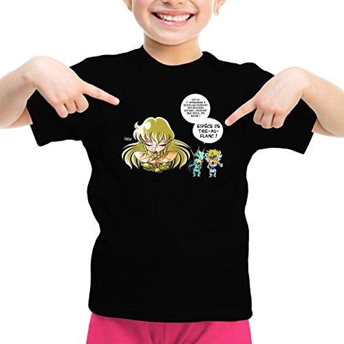 T-Shirts Saint Seiya - Les Chevaliers du Zodiaque parodique Shiryu du Dragon, Hyoga du Cygne Shaka : La Technique Interdite: Le Roupillon du Lotus !! (Parodie Saint Seiya - Les Chevaliers du zodia