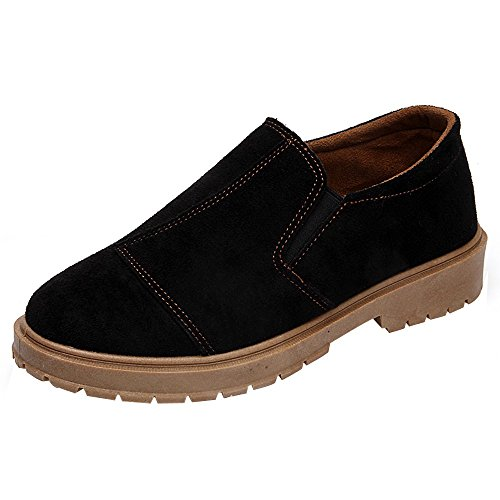 Damen Stiefeletten Xinantime Stiefel Sneaker Damen Round Toe Wildlederschuhe Flache Booties Martin...