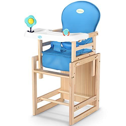 L.BAN Kinder Essensstuhl Holzwerkstoff Mehrzweck Hoher Hocker Frühstück Schreibtischstuhl