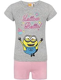 Despicable Me Yellow Bello Minion Girl s Pyjamas 2c1713459