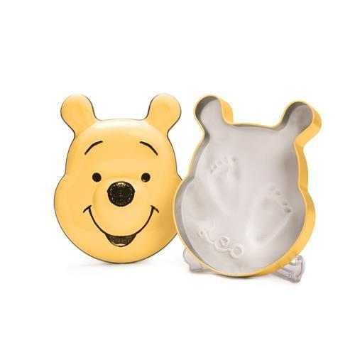 Disney Baby Kits de Moulage/Empreinte Motif Winnie Forme Ronde Jaune Taille Unique