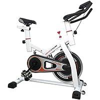 Preisvergleich für Blackpoolal CY-S501 Indoor Cycling Bike Hometrainer Fahrrad Heimtrainer Fitness Cycle Trimmrad Fitnessbike Fahrradtrainer Ergometer Fahrrad bis 120KG