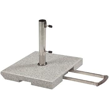doppler 50 kg granit schirmst nder mit rollen. Black Bedroom Furniture Sets. Home Design Ideas