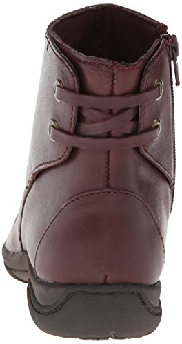 Clarks Christine Tilt Boot Burgundy Leather