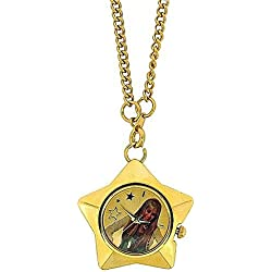 Disney Hannah Montana Gold Tone Star Pendant Watch