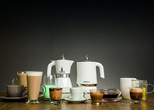 Ariete 1344 Breakfast Station – 3 prodotti in 1: Moka-Bollitore-Montalatte a caldo e freddo, 500W, 4/2 tazze, Mantenimento caffè in caldo, 5 funzioni, Bianco confronta il prezzo