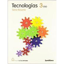 Tecnologías 3 Eso Serie Resorte La Casa Del Saber Santillana