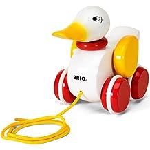 Holzspielzeug Beeboo Nachziehente Ente Spielzeug Babyspielzeug Holzente Watschelente
