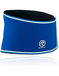Rehband Bandage Rückenbandage Retro Neopren - Coderas, color azul, talla XL