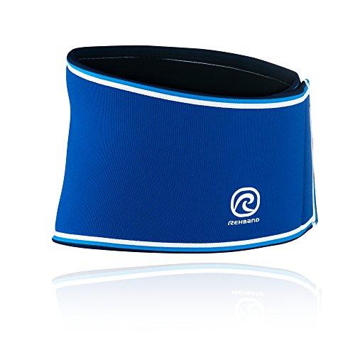 Rehband Bandage Rückenbandage Retro Neopren Blau, XXL
