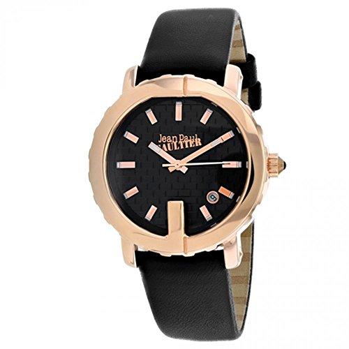 Jean Paul Gaultier Classic Reloj de Mujer Cuarzo 37mm Correa de Cuero 8500516