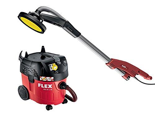 Flex power tools ge5tbv35500w 110v ge 5+ tb-l giraffa levigatrice e vce35–kit, colore: rosso
