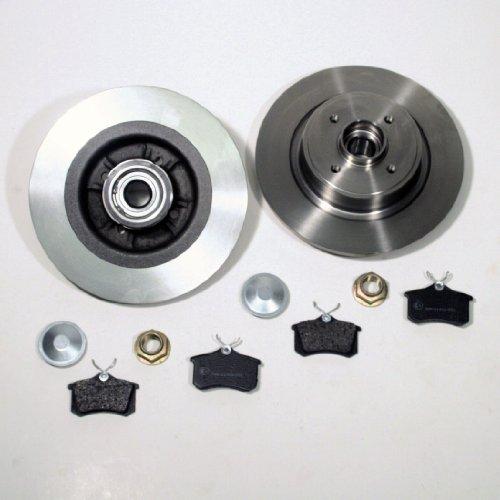 Preisvergleich Produktbild Bremsscheiben + Beläge hinten