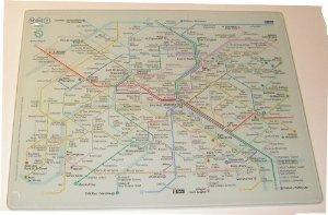 planche-a-decouper-30x40cm-plan-metro-ratp-paris-france