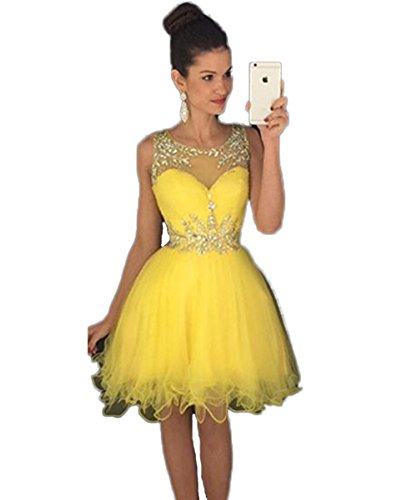 CoCogirls - Robe - Boule - Femme yellow