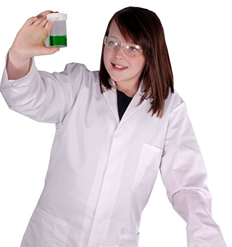 Childrens-White-Lab-Coat-Doctor-Coat-Science-Coat-in-a-wide-range-of-sizes