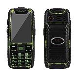 Guophone A6 wasserdichte Telefon lange Standby-Handy-Kamera ohne vertrag outdoor klein gps senioren günstig neu, doro große tasten seniorenhandy gross für whatsapp buch (Camouflage)