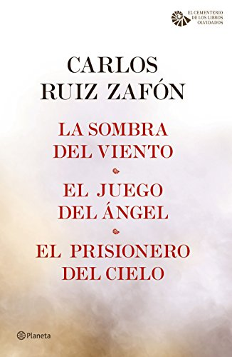 La Sombra del Viento + El Juego del Ángel + El Prisionero del Cielo ...