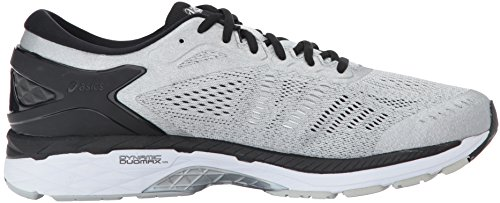 Gel Asics 24 Laufschuh Grey Mid Synthetik Silver Kayano Black fqwgqCd