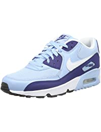 Nike Air Max 90 Mesh (Gs), Zapatillas de Running Para Mujer