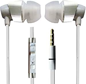 JYARA First Tangle free Earphone with feature of Feet Taping Music sound ||Super Sound || Premium Look||3.5 mm Jack ||Super Soround Sound || Headphone || Earbuds || headset || with Mic ||Compatible with all your audio devices, Android, Window, Smart phone [[kfmEarBlue-3594]] Best Match With ZTE Amigo