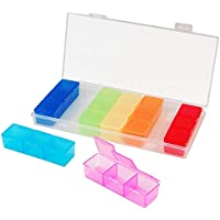 Pillendose 7Tage Box Halter Medizin Spender Organizer Tablets Case Colorful Jewelry Storage 21Slots preisvergleich bei billige-tabletten.eu