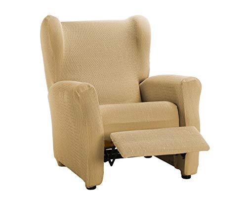 Martina Home Schutzhülle aus elastischem Sessel Modell Tunez Bezug für Relax-Sessel 32x42x8 cm beige