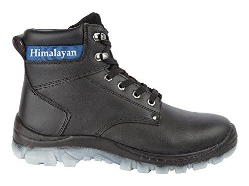 Del Himalaya botas de seguridad para hombre, color Negro, talla 41