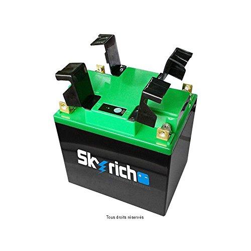 Skyrich - Batteria moto Lithium U1-9 / U1R-9 / 12N24-3 12V 3.5Ah