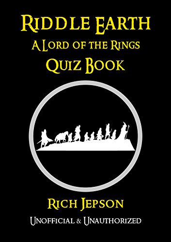 Riddle Earth: A Lord Of The Rings Quiz Book (English Edition ...