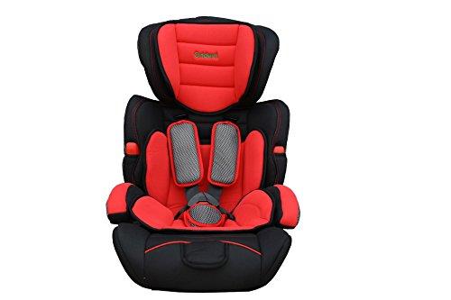 Kindersitz Autositz Kinder 9-36 Kg neu ECE 44-04 Auto Grau/Blau/Pink/Rot/Lila (Rot)