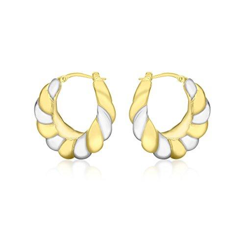 Carissma Gold - Créoles - Or Or Bicolore