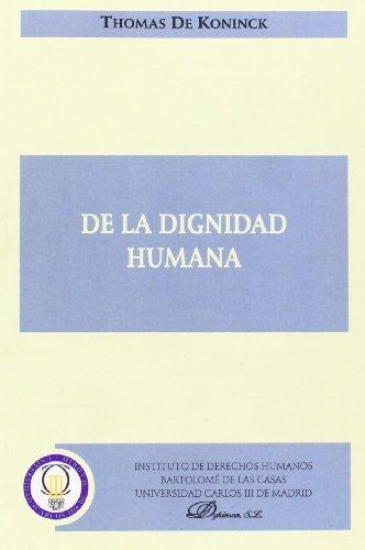 de-la-dignidad-humana-spanish-edition-by-thomas-de-koninck-2008-04-02
