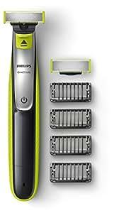 Philips QP2530/30 OneBlade avec lame de rechange + 4 sabots barbe