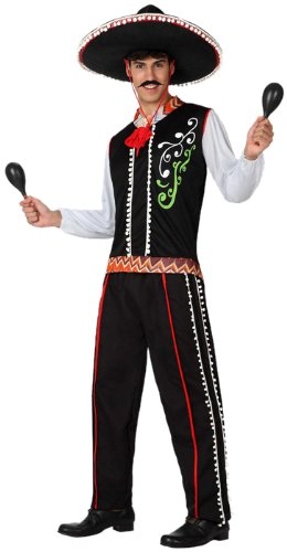 Atosa 8422259152705 - Verkleidung Mariachi, (Mariachi Kostüm)