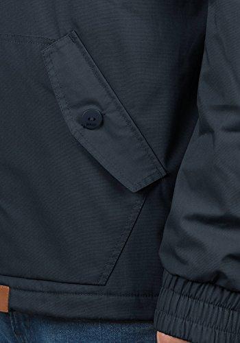 SOLID Till Herren Übergangsjacke Schlupfjacke mit Kapuze aus einer hochwertigen Baumwollmischung Insignia Blue (1991)