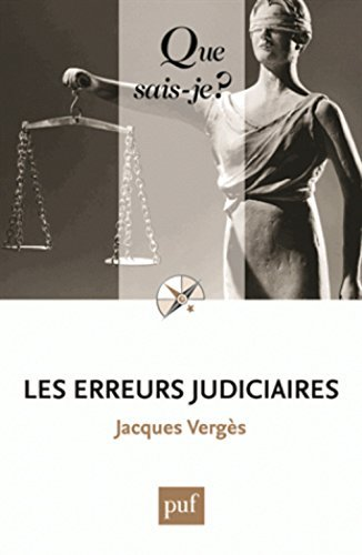 Les erreurs judiciaires by Jacques Verg??s (2015-08-26)