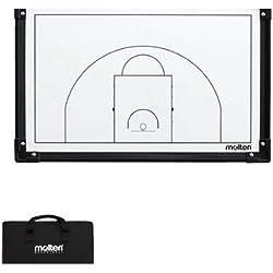Molten msbB baloncesto estrategia tabla/blanco negro/blanco