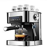 FASBHI Kaffeemaschine, zu Hause kleinen italienischen halbautomatischer Zug Blumendampf Typ schäumender Cappuccino Küche Elektro-Zubehör