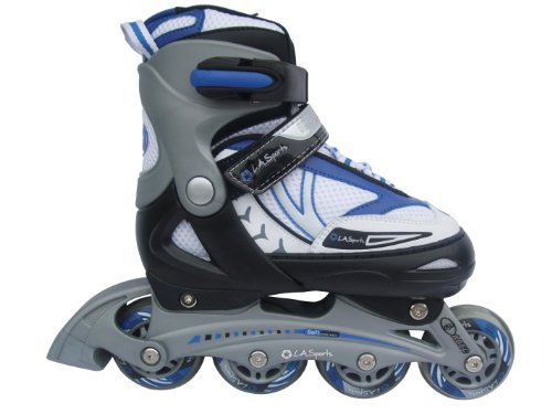 L.A. Sports Kinder Inline Skate Junior iJump F-168 verstellbar