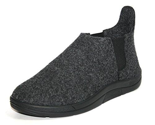 Berkemann - Alina, Pantofole Donna Grau (dunkelgrau 937)